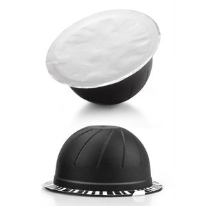 Image 2 - Capsules rechargeables de Nespresso Vertuo, autocollant, dosettes jetables de Nespresso Vertuoline, auto adhésif, couvercle de Film en aluminium