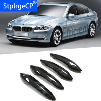 Top Quality for BMW 5 series F20 F22 F07 F15 2010 2017 Car Accessories Carbon Fiber Auto Door Handle Knob Exterior Trim Covers