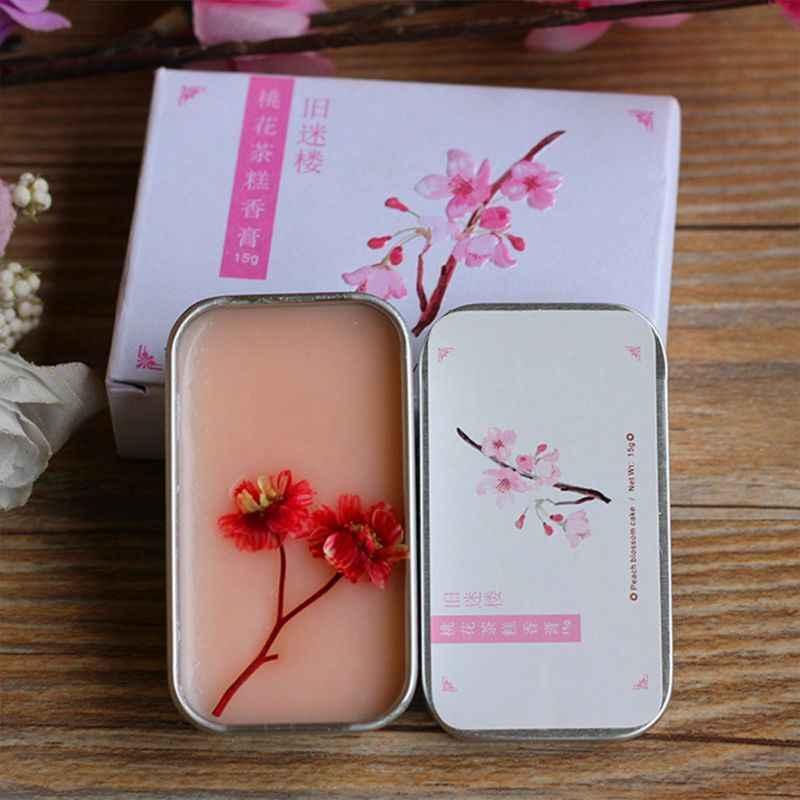 Hommes femmes solide parfum Portable baume longue peau parfum corps durable soins de la peau