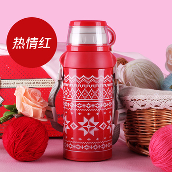 Large Capacity Portable Stainless Steel Vacuum Cup Thermos with Cup Thermocup for Soup Personalized Thermos Portable Tour HH50BW