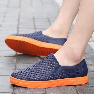 Image 5 - Summer Beach Sandals Men Shoes Breathable Aqua Shoes River Sea Slippers Men Outdoor Flip Flops Barefoot Shoes zapatos hombre