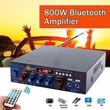 110V 220V 800W BT wzmacniacz bezprzewodowy 24-bit procesor MP3 odtwarzacz z pilot na podczerwień otrzymaniu funkcji tanie tanio CLAITE NONE CN (pochodzenie) Powyżej 200 W