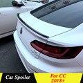 Для Volkswagen New CC 2018 2019 Спойлер ABS Материал грунтовка цвет Dar украшение в виде хвостового крыла задний спойлер багажника для нового Arteon