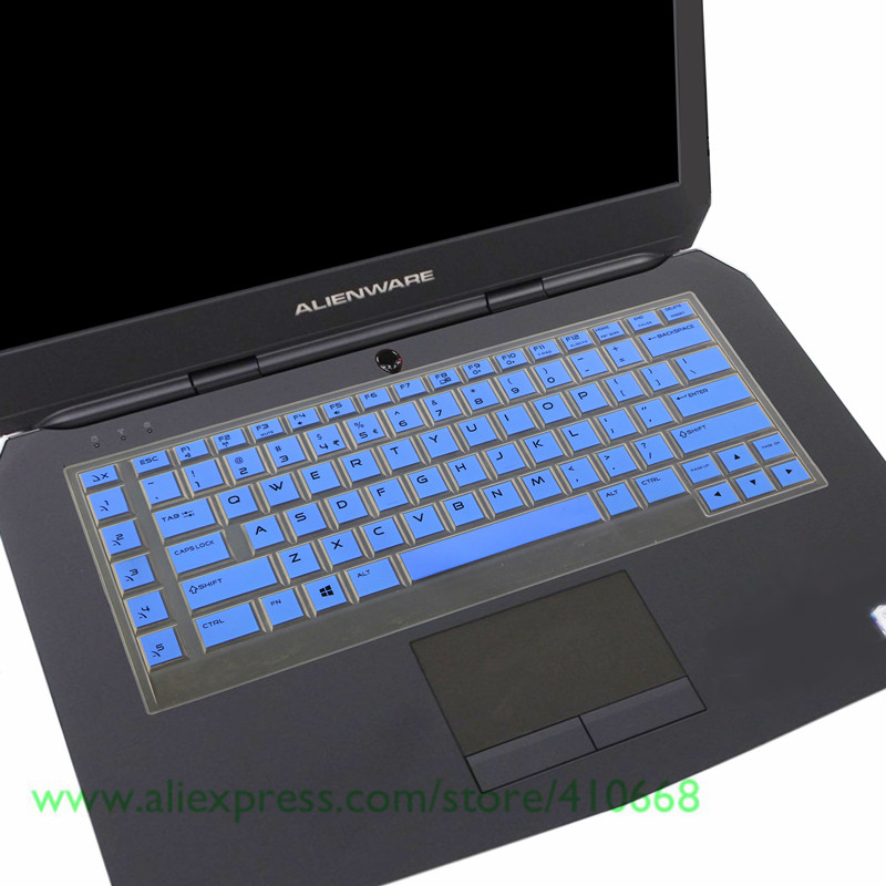 Keyboard Skin Cover Protector for Dell Alienware 15 2015 version Multi-Colors