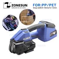 Zonesun 달아서 기계 110v 또는 220v ort 130 배터리 구동 플라스틱 달아서 도구 기계