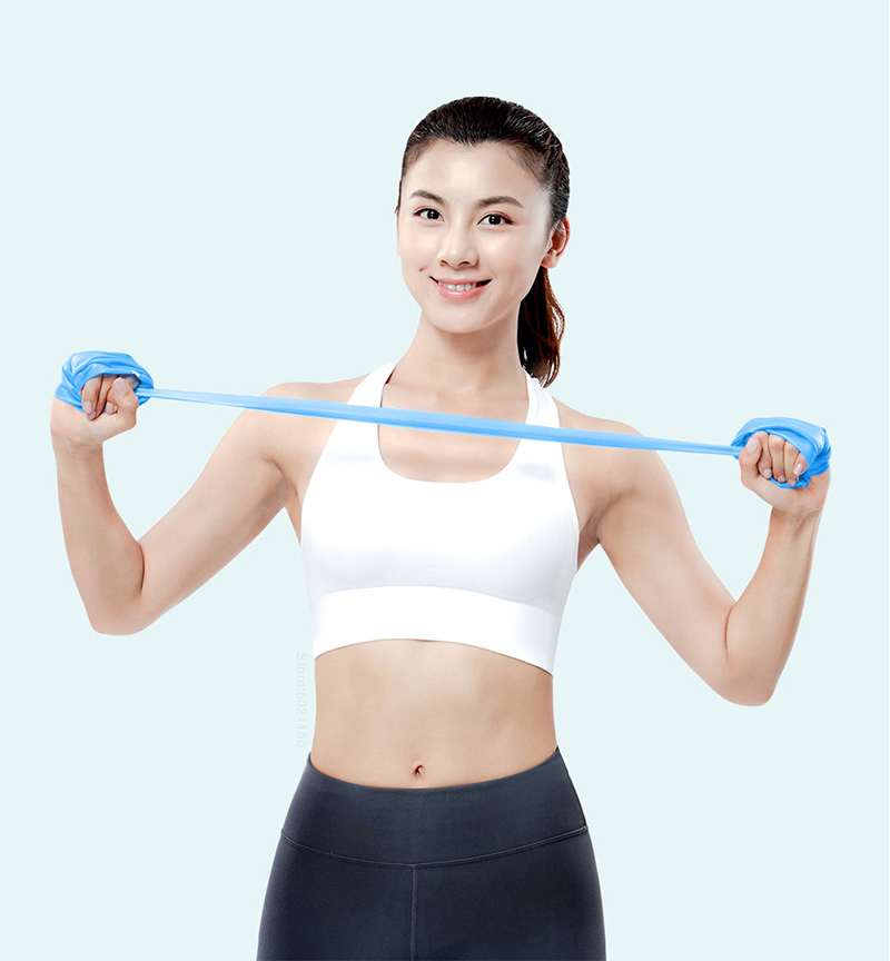 YUNMAI Elastic Bands For Fitness Exercise -25 pounds Green