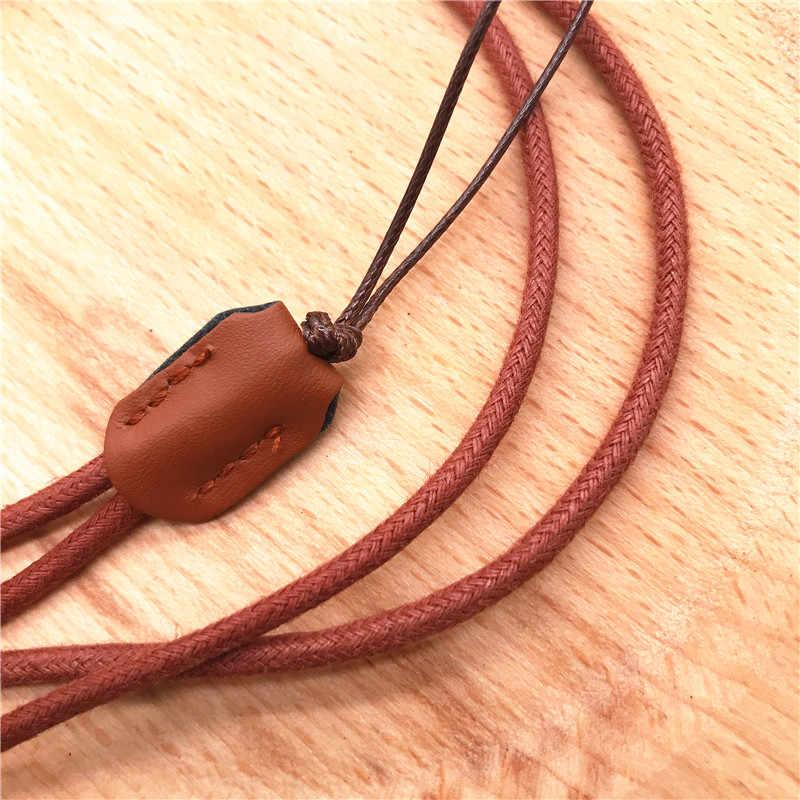 Мягкий шнурок из искусственной кожи для защиты от потери, шейный ремешок для удостоверения, пропуска, значка для карт, держатель usb-ключей для тренажерного зала, мобильный телефон, веревка для подвешивания DIY