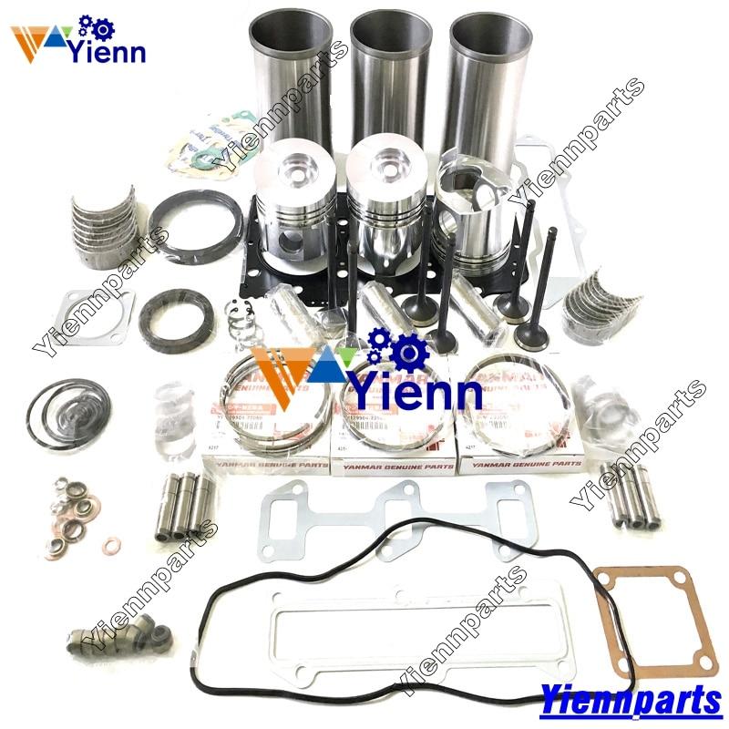 Fits Yanmar 3TNE88 3TNV88 3D88E Engine Overhaul Gasket  kit