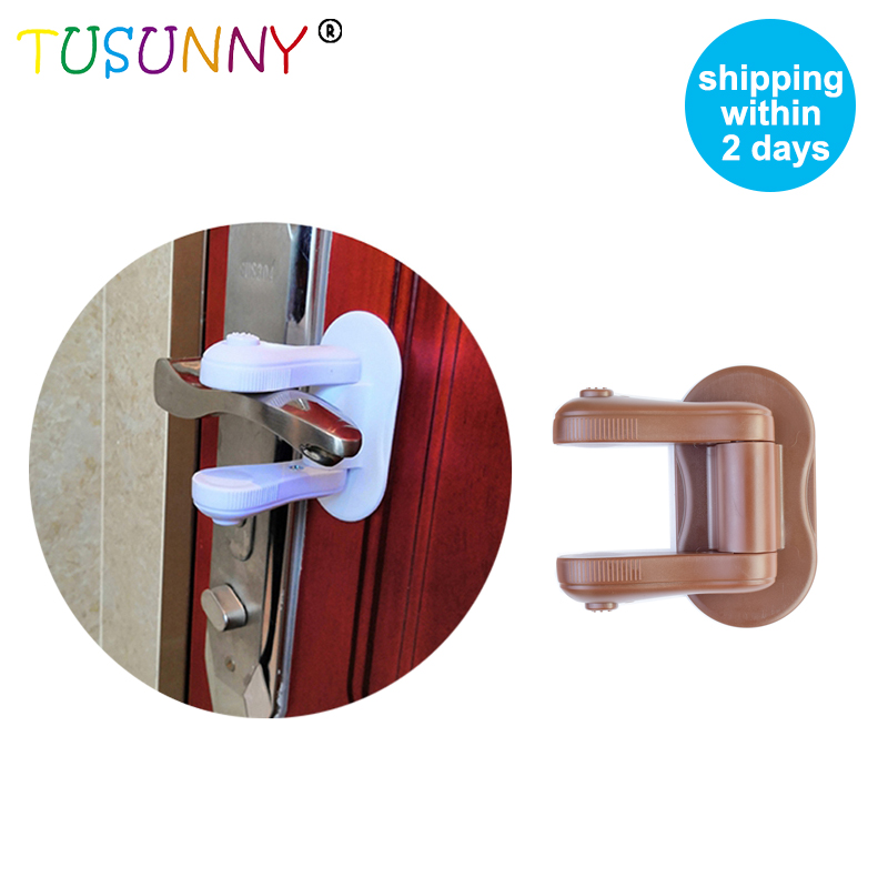 TUSUNNY 1PC Door Lever Lock,Baby Proofing,Door Handle Lock,Door  Protection For Children Baby Safety Lock