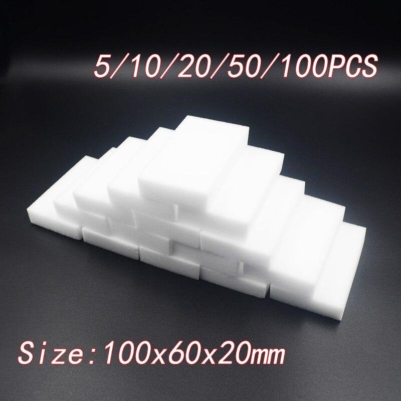 100*60*20 мм меламиновая губка для мытья волшебный спонж стиратель, Меламиновый спонж очиститель Чистящая губка для Кухня инструменты для уборки ванной комнаты
