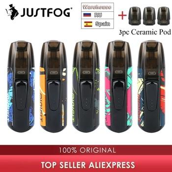 Nowe kolory zestaw JUSTFOG MINIFIT Pod zestaw do e-papierosa z 370mAh baterii i 1 5ml wkład system pod pod zestaw do e-papierosa vs przeciągnij Nano Kubi tanie i dobre opinie Z Baterią MINIFIT Starter Kit JUSTFOG KIt 700 mAh Wbudowany 21 x 15 x 70mm 1 6ohm DV 5V via USB Black Red Silver