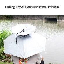 Портативный Анти-ультрафиолетовый свет дождь тени на голову двухслойный зонтик для наружной рыбалки