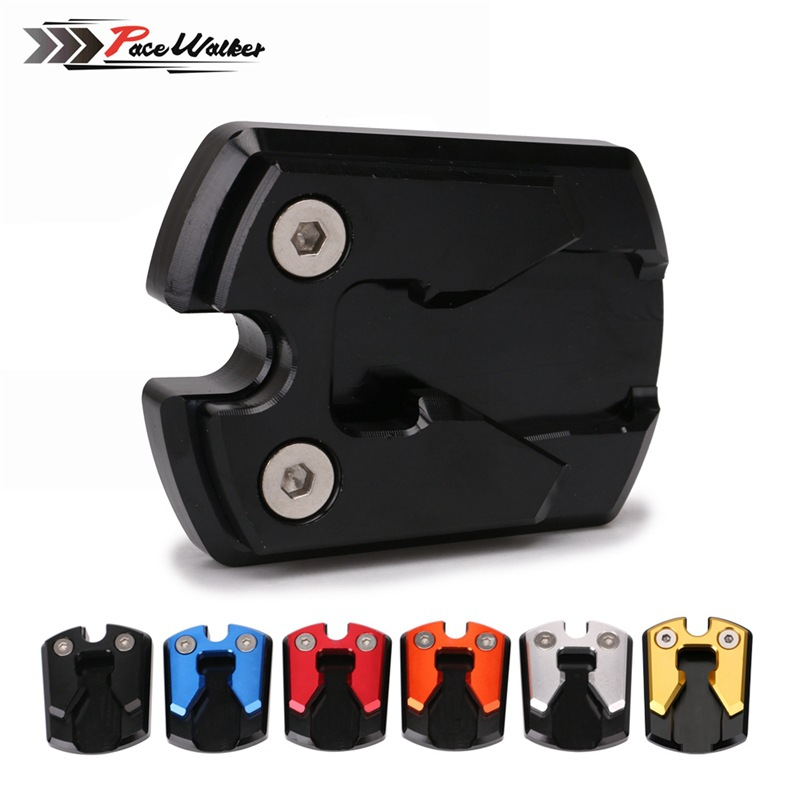 Motorcycle Modified Extension Mat Support Suitable For Yamaha Nmax155 Accessories Extra-large Foot Brace Temple Base