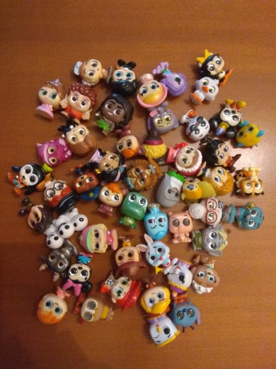 5-100 PCS Doorables Series 1 & Series 2 Princess Doll Mickey Rare Collection Kid Toy MINI SIZE