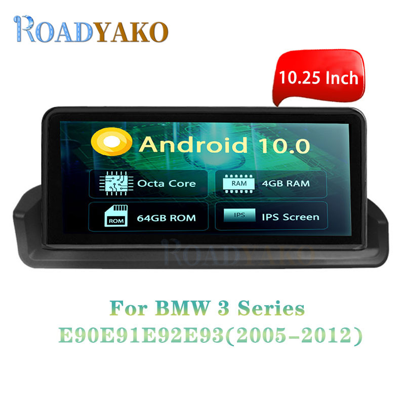 <font><b>10.25</b></font>'' Android 10.0 Car Radio Navigation GPS For <font><b>BMW</b></font> 3er <font><b>E90</b></font> E91 E92 E93 2005-2012 Stereo 2 Din Autoradio Auto Car Video player image