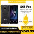DOOGEE S68 Pro прочный телефон Helio P70 Восьмиядерный 6 ГБ 128 Гб Беспроводная зарядка IP68 Водонепроницаемый NFC 6300 мАч 12V2A зарядка 5,9 дюймов FHD +
