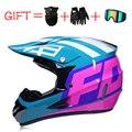 Гоночный внедорожный мотоциклетный шлем с полным лицевым покрытием  мотоциклетный шлем для мотокросса  мотоциклетный шлем в горошек  винта...