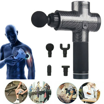 Merrynice Handheld Cordless Powerful Muscle Deep Tissue Massager Guns