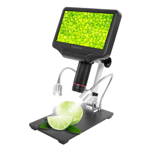 Image 2 - AD407 Digital Microscope for Phone 270X 1080P High Definition Microscope Camera 7 Inch Screen Microscope for Soldering