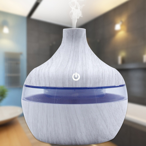 Portable Home Wood Diffuser Essential Oils Office Ultrasonic Mist Maker Air Humidifier USB Car Aroma Diffuser Scent Air Machine