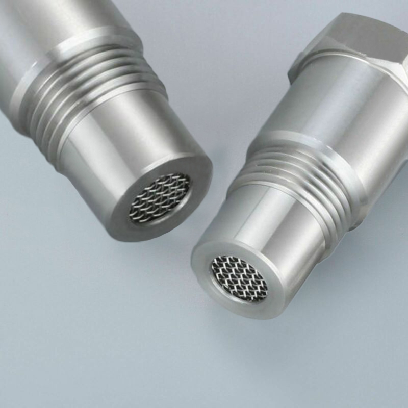 Otomobiller ve Motosikletler'ten Katalitik Dönüştürücüler'de Aksesuarı oksijen sensörü adaptörleri parçaları 2 adet Eliminator filtre 304 paslanmaz çelik yedek dayanıklı title=