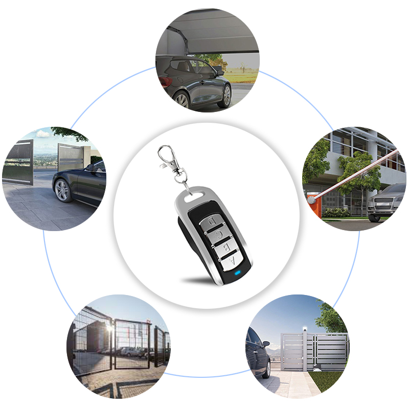 Купить с кэшбэком Multi Frequency 315/390/433MHz/868MHz Remote Control Garage Door Opener Rolling Code Clone for Gate Control Command