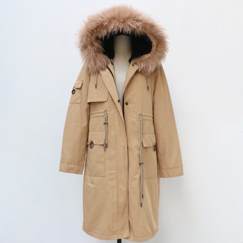 real natural raccoon fur woman parkas coat with big large raccoon fur collar and rabbit fur liner thick warm fashion new parka children winter big real raccoon fur hooded thick warm parkas jackets boy girls fashion 2018 casual real liner coats bing bunny