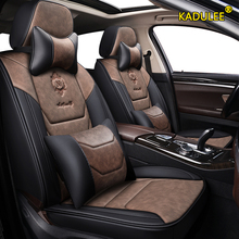 KADULEE leather car seat cover For audi a3 8p 8l sportback q
