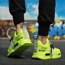 حرائق 2019 الرجال حذاء كاجوال ماركة أحذية رياضية للرجال خفيفة في الهواء الطلق شبكة رجل موضة حذاء رياضة أحذية مفلكنة Zapatillas Mujer