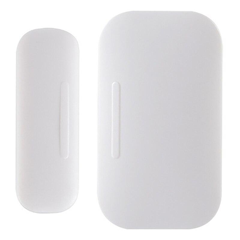 Умный беспроводной датчик ZigBee для окон и дверей, поддержка домашней безопасности, приложение Tuya Smart Life, работает для Amazon Echo 2Nd/Plus Tuya, платформ...
