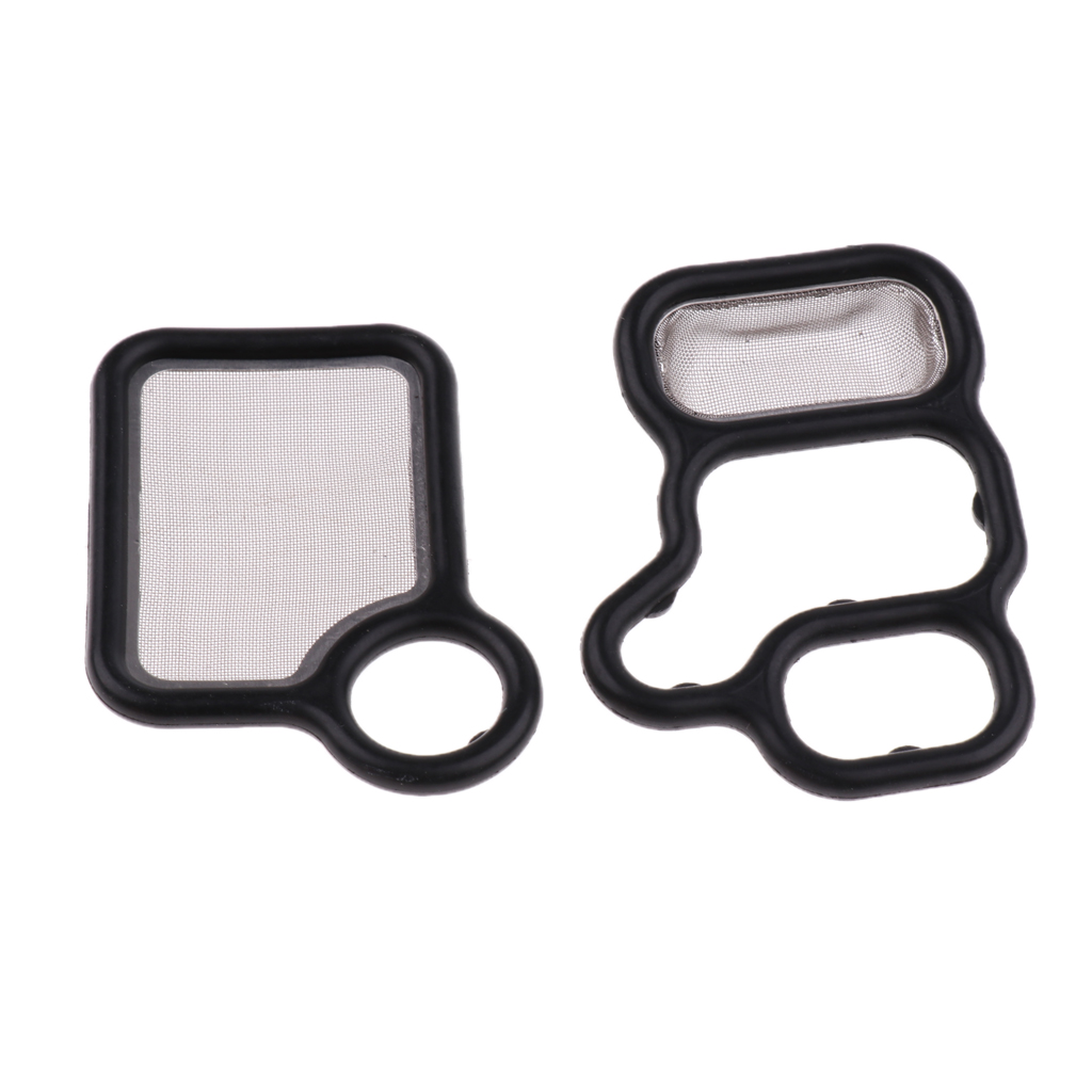 2 Pcs Car Variable Timing Solenoid Gaskets For Honda Accord/CR-V/Element/Fit Acura RDX/RSX/TSX Etc 15815-RAA-A01 15815-RAA-A02