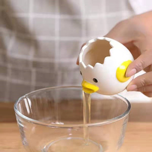 Cermic biały Separator ceramiczne żółtko rekwizyty domowe wypieki dostarcza Separator jaj przyrząd kuchenny