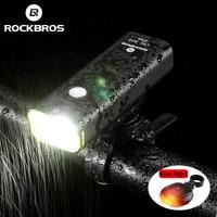 ROCKBROS rower elektryczny lekka jazda na rowerze jazda latarka wodoodporny reflektor rowerowy rower mtb światło przednie akcesoria rowerowe w Oświetlenie rowerowe od Sport i rozrywka na