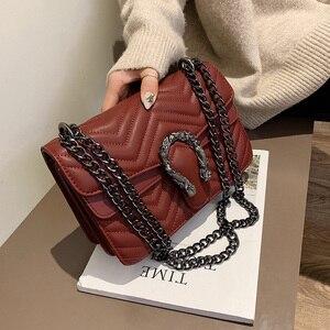 Image 3 - 高級ハンドバッグの女性のバッグデザイナーハンドバッグ高品質 2019 嚢主な新puレザークロスボディメッセンジャーバッグ女性のための