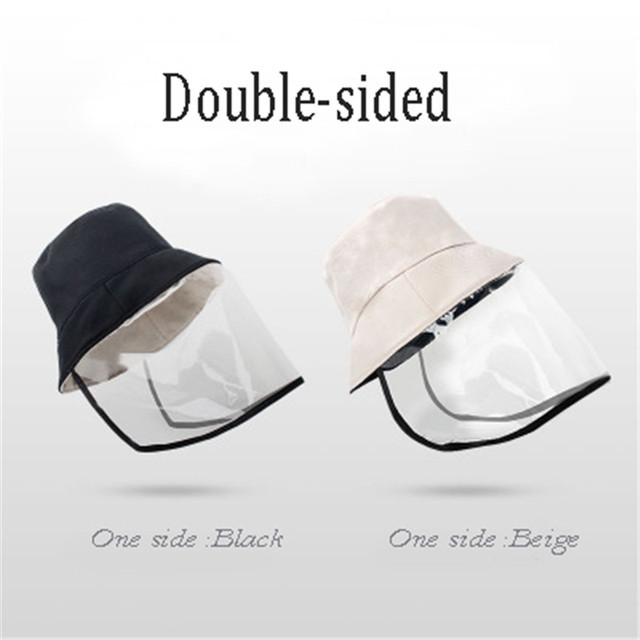 Anti-spitting Safe Head Face Cover Outdoor Protective Adjustable Size Mesh Face Mask For Flu Air Pollution Breathable Hat Cover 1
