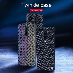 Image 4 - for Oneplus 8 Pro Twinkle Case NILLKIN Textured Nylon Fiber Luxury Durable Non slip Full Cover Polyester Case for One Plus 8 Pro