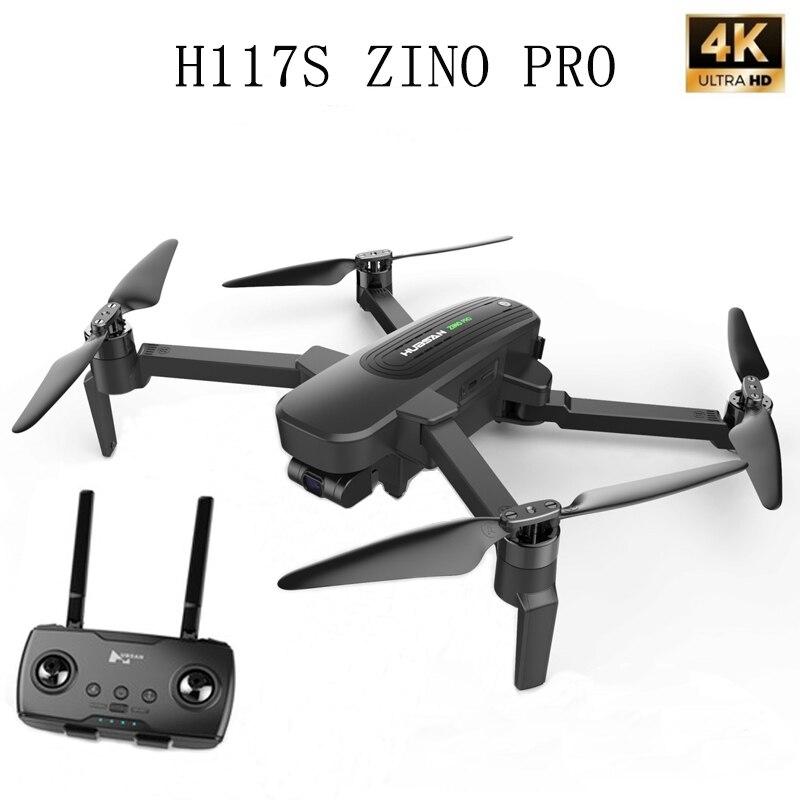 Hubsan-moteur RC sans balais, Drone GPS Zino PRO, 4 K, UHD, bras pliable, quadrirotor, 5G