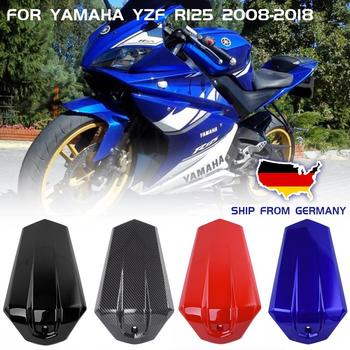 Motorcycle Rear Passenger Solo Seat Cowl Cover Pillion For Yamaha YZF R125 R 125 2008-2018 16 2017 Carbon Seat Fairing Injection new motorcycle rear seat cover cowl solo fairing for honda cbr 1000 rr 04 05 06 07 2004 2007 free shipping c20