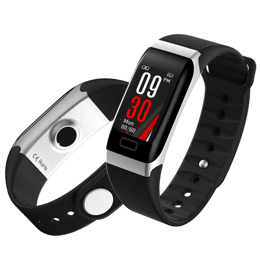 L8STAR R7 USB Charging Smart Band Heart Rate Fitness Tracker IP68 Waterproof Smart Bracelet Blood Pressure Wristband