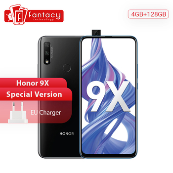 Special Version Honor 9X Smartphone 4GB 128GB 48MP Dual Cam 6.59 inch Mobile Phones Android 9 4000mAh OTA Google Play