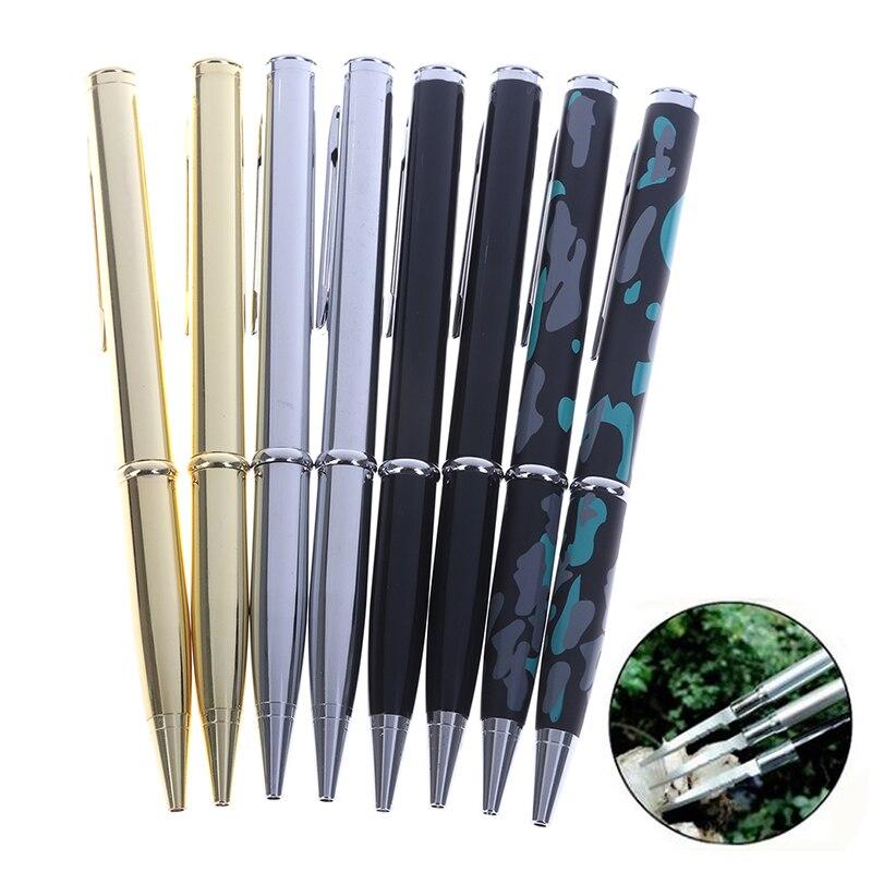 1 шт. 2 в 1 многофункциональный инструмент для улицы, нож, пилообразный шпон, шариковая ручка, инструмент для защиты от волка