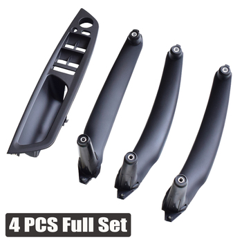 Right Left Inner Door Panel Handle Pull Trim Holder Auto Interior Accessories For BMW E70 X5 E71 E72 X6 SAV Car Styling image