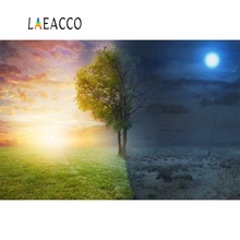 Laeacco Magic Fantasy Spring Winter Tree Scenic Photographic Backgrounds Customized Photography Backdrop For Photo Studio цена