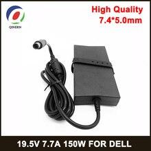 150W zasilanie 19.5V 7.7A 7.4*5.0mm zasilacz do laptopa do Dell Alienware M11X M14X M15X E5510 E6420 ADP 150DB podkładka pod ładowarka AC
