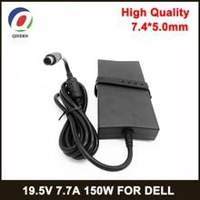 Công Suất 150W 19.5V 7.7A 7.4*5.0Mm Adapter Dành Cho Laptop Dell Alienware M11X M14X M15X E5510 e6420 ADP 150DB Notbook AC Sạc