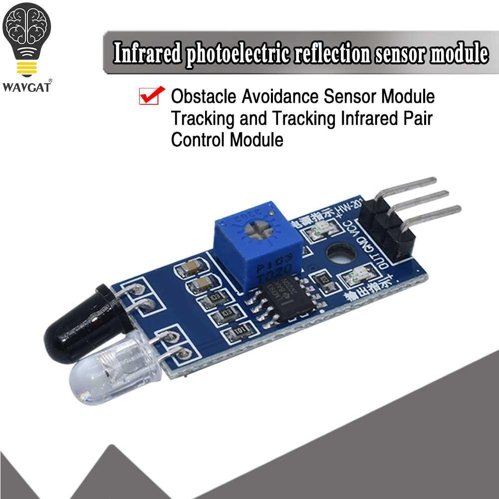 Électronique intelligente nouveau pour Arduino bricolage Robot de voiture intelligente réfléchissant photoélectrique 3pin IR infrarouge capteur d'évitement d'obstacle Module