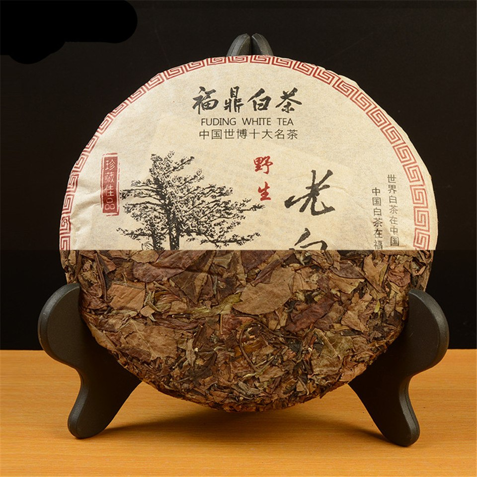 350g High Quality White Tea Chinese Fujian Fuding Shoumei Tea Wild Old White Tea Green Food Lowering Blood Pressure Shoumei Tea