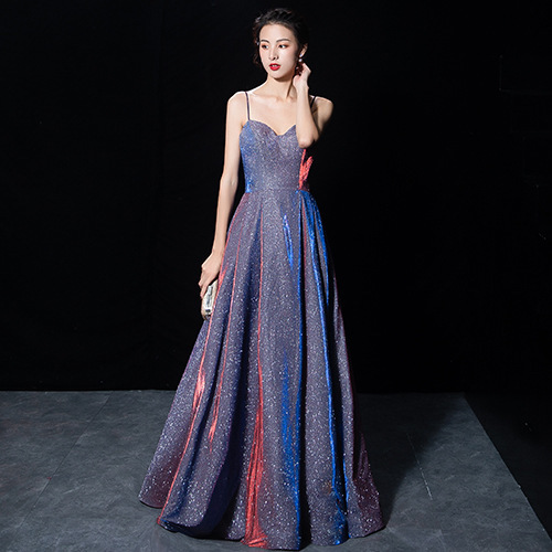 2020 Sale Beach Bridesmaid Dresses Long Starry Female 2020 Annual Meeting Of The New Birthday Party Harness Long