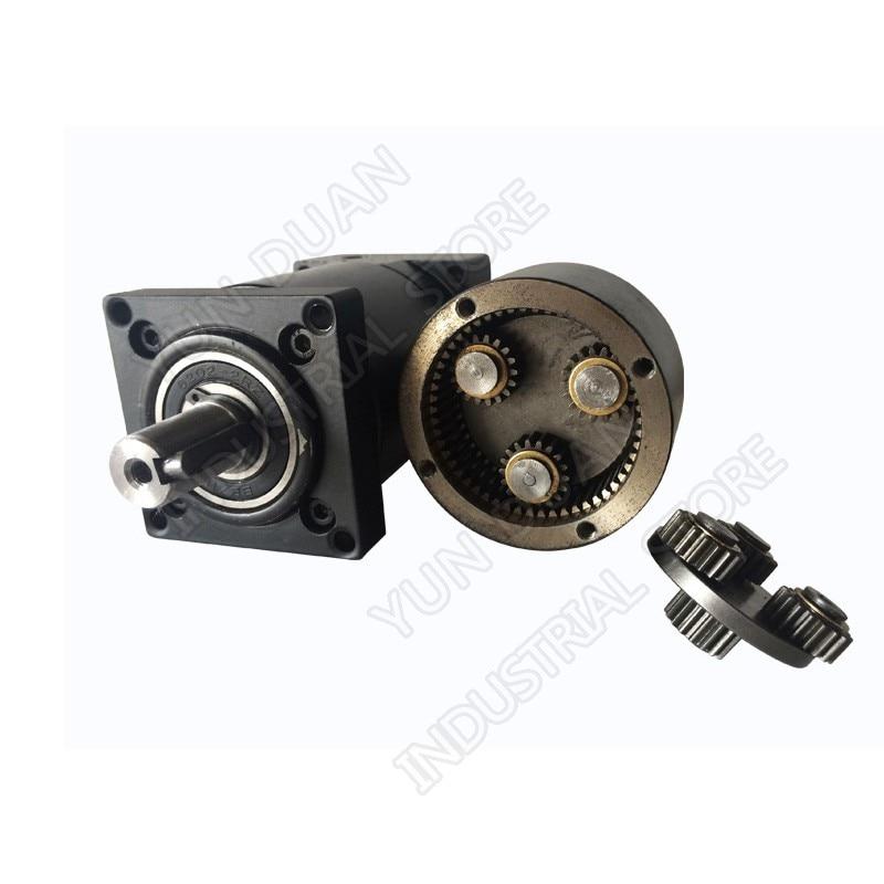 Ochoos Ratio 10:1 NMRV030 Worm Gear Reducer 56B14 for 3 Phase 380v 2400r//min 120w Asynchronous Motor with 14mm Single Output Shaft