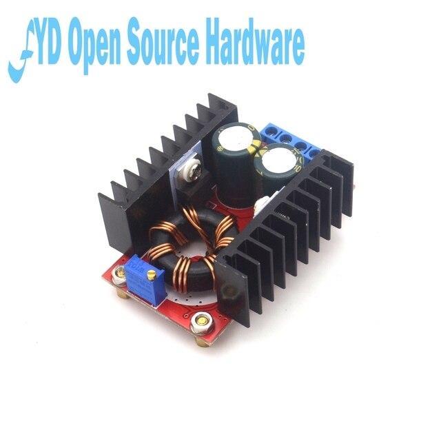 150W DC DC Boost dönüştürücü 10 32V için 12 35V 6A için adım Up voltaj şarj güç